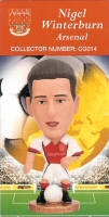 Nigel Winterburn, Arsenal - CG014 - Corinthian - Prostars - Club Gold - 2000