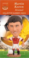 Martin Keown, Arsenal - CG016 - Corinthian - Prostars - Club Gold - 2000