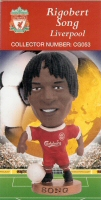 Rigobert Song, Liverpool - CG053 - Corinthian - Prostars - Club Gold - 2000