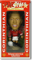 Wes Brown, Manchester United - CG063 - Corinthian - Prostars - Club Gold - 2000