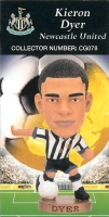Kieron Dyer, Newcastle United - CG078 - Corinthian - Prostars - Club Gold - 2000