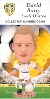 David Batty, Leeds United - CG108 - Corinthian - Prostars - Club Gold - 2000