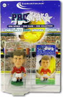 Teddy Sheringham, Manchester United - PRO144 - Corinthian - Prostars - Other Sets - Christmas Specials - Blister Pack