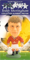 Teddy Sheringham, Manchester United - PRO144 - Corinthian - Prostars - Other Sets - Christmas Specials - Card