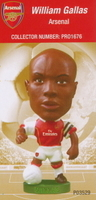 William Gallas, Arsenal - PRO1676 - Corinthian - Prostars - Other Sets - Club Blisters - Card
