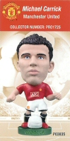Michael Carrick, Manchester United - PRO1725 - Corinthian - Prostars - Other Sets - Club Blisters - Card