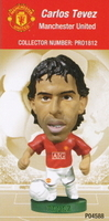 Carlos Tevez, Manchester United - PRO1812 - Corinthian - Prostars - Other Sets - Club Blisters - Card