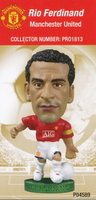 Rio Ferdinand, Manchester United - PRO1813 - Corinthian - Prostars - Other Sets - Club Blisters - Card