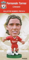 Fernando Torres, Liverpool - PRO1814 - Corinthian - Prostars - Other Sets - Club Blisters - Card