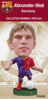 Alexander Hleb, Barcelona - PRO1824 - Corinthian - Prostars - Other Sets - Club Blisters - Card
