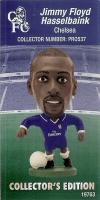Jimmy Floyd Hasselbaink, Chelsea - PRO537 - Corinthian - Prostars - Other Sets - Collector Edition - Card