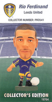 Rio Ferdinand, Leeds United - PRO541 - Corinthian - Prostars - Other Sets - Collector Edition - Card