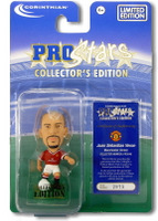 Juan Sebastian Veron, Manchester United - PRO546 - Corinthian - Prostars - Other Sets - Collector Edition - Blister Pack