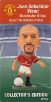 Juan Sebastian Veron, Manchester United - PRO546 - Corinthian - Prostars - Other Sets - Collector Edition - Card