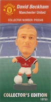 David Beckham, Manchester United - PRO548 - Corinthian - Prostars - Other Sets - Collector Edition - Card