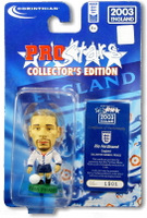 Rio Ferdinand, England - PRO822 - Corinthian - Prostars - Other Sets - Collector Edition - Blister Pack