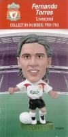 Fernando Torres, Liverpool - PRO1763 - Corinthian - Prostars - Other Sets - Convention Pick'n'Mix - Card