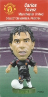 Carlos Tevez, Manchester United - PRO1764 - Corinthian - Prostars - Other Sets - Convention Pick'n'Mix - Card