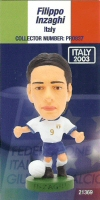 Filippo Inzaghi, Italy - PRO837 - Corinthian - Prostars - Other Sets - Italian National Team - Card