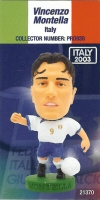 Vincenzo Montella, Italy - PRO838 - Corinthian - Prostars - Other Sets - Italian National Team - Card