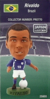 Rivaldo, Brazil - PRO770 - Corinthian - Prostars - Other Sets - Japan Lucky Box - Card