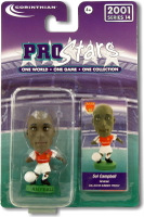 Sol Campbell, Arsenal - PRO507 - Corinthian - Prostars - Regular Series - Series 14 - Blister Pack