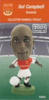 Sol Campbell, Arsenal - PRO507 - Corinthian - Prostars - Regular Series - Series 14 - Card
