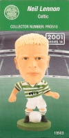Neil Lennon, Celtic - PRO510 - Corinthian - Prostars - Regular Series - Series 14 - Card