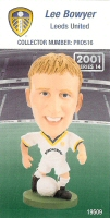Lee Bowyer, Leeds United - PRO516 - Corinthian - Prostars - Regular Series - Series 14 - Card