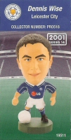 Dennis Wise, Leicester City - PRO518 - Corinthian - Prostars - Regular Series - Series 14 - Card