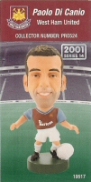 Paolo Di Canio, West Ham United - PRO524 - Corinthian - Prostars - Regular Series - Series 14 - Card
