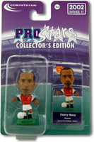 Thierry Henry, Arsenal - PRO617 - Corinthian - Prostars - Regular Series - Series 17 - Blister Pack
