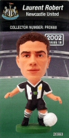 Laurent Robert, Newcastle United - PRO688 - Corinthian - Prostars - Regular Series - Series 18 - Card