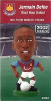 Jermaine Defoe, West Ham United - PRO689 - Corinthian - Prostars - Regular Series - Series 18 - Card