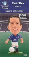 David Weir, Everton - PRO691 - Corinthian - Prostars - Regular Series - Series 18 - Card