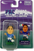 Vincenzo Montella, AS Roma - PRO696 - Corinthian - Prostars - Regular Series - Series 18 - Blister Pack