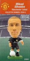 Mikael Silvestre, Manchester United - PRO913 - Corinthian - Prostars - Regular Series - Series 23 - Card