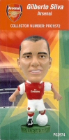 Gilberto Silva, Arsenal - PRO1572 - Corinthian - Prostars - Regular Series - Series 36 - Card
