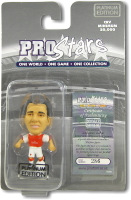 Gilberto Silva, Arsenal - PRO1572 - Corinthian - Prostars - Regular Series - Series 36 - Platinum Pack