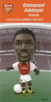 Emmanuel Adebayor, Arsenal - PRO1637 - Corinthian - Prostars - Regular Series - Series 37 - Card