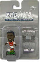 Emmanuel Adebayor, Arsenal - PRO1637 - Corinthian - Prostars - Regular Series - Series 37 - Platinum Pack