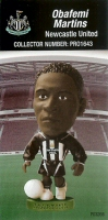 Obafemi Martins, Newcastle United - PRO1643 - Corinthian - Prostars - Regular Series - Series 37 - Card