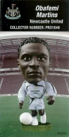 Obafemi Martins, Newcastle United - PRO1649 - Corinthian - Prostars - Regular Series - Series 37 - Card