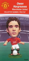 Owen Hargreaves, Manchester United - PRO1707 - Corinthian - Prostars - Regular Series - Series 38 - Card