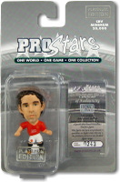 Owen Hargreaves, Manchester United - PRO1707 - Corinthian - Prostars - Regular Series - Series 38 - Platinum Pack