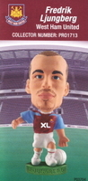 Freddie Ljungberg, West Ham United - PRO1713 - Corinthian - Prostars - Regular Series - Series 38 - Card