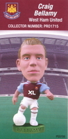 Craig Bellamy, West Ham United - PRO1715 - Corinthian - Prostars - Regular Series - Series 38 - Card