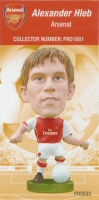 Alexander Hleb, Arsenal - PRO1681 - Corinthian - Prostars - Other Sets - Club Blisters - Card