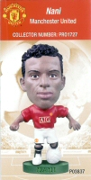Nani, Manchester United - PRO1727 - Corinthian - Prostars - Other Sets - Club Blisters - Card