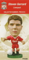 Steven Gerrard, Liverpool - PRO1815 - Corinthian - Prostars - Other Sets - Club Blisters - Card